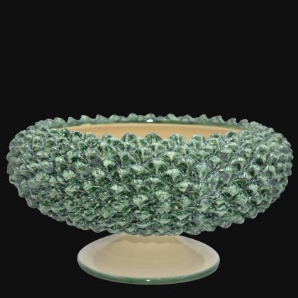 Testa di Moro donna in ceramica artigianale di Caltagirone