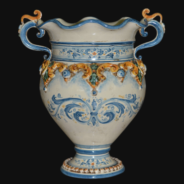 Tricolor Ceramic handmade Vase