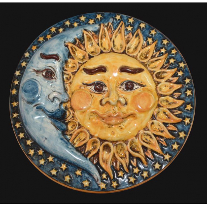 Sole/luna a disco Ø 25