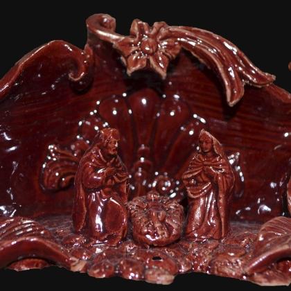 Presepe in ceramica