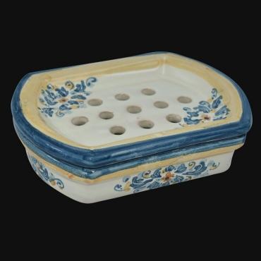 Lume Ornamentale Linea Floreale in ceramica di Caltagirone Ceramiche Artistiche Sofia