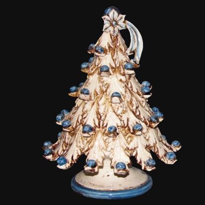 Albero di natale in ceramica artistica di Caltagirone