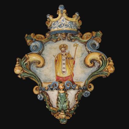 Pigna di Caltagirone modellata a mano