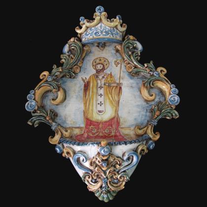 Acquasantiera - San Nicola di Bari