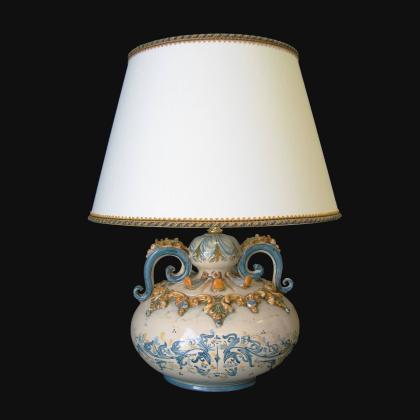 copy of Ornamental light in ceramics of Caltagirone - Artistic ceramics Sofia